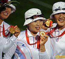 女子射箭,韩国,北京奥运,,,08北京