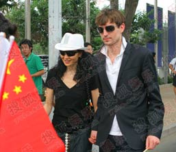 张曼玉,明星,政要,北京奥运,08北京