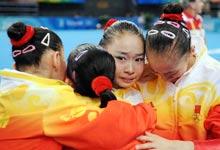 女子体操团体,中国夺冠,奥运,北京奥运,08奥运,2008