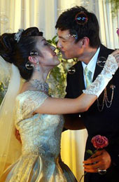 李佳薇大婚,李佳薇,李佳薇结婚,李超,张怡宁,婚礼,乒乓球