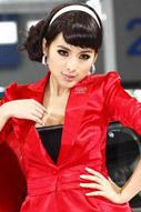 广州车展美女车模