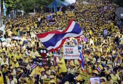 泰国持续动荡