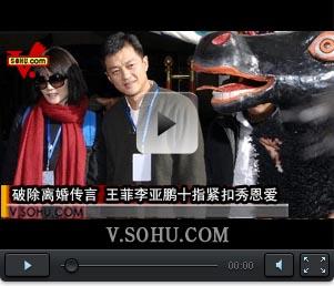 视频:破除离婚传言 王菲李亚鹏十指紧扣秀恩爱