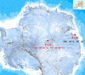 我国南极考察站位置示意图