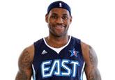 NBA东部全明星写真:小皇帝亲和力强 加内特耍酷