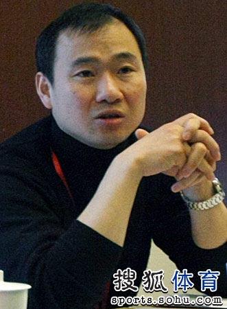 中国乒协换届选举 吕林在会上发言