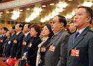 全国人大代表高唱国歌