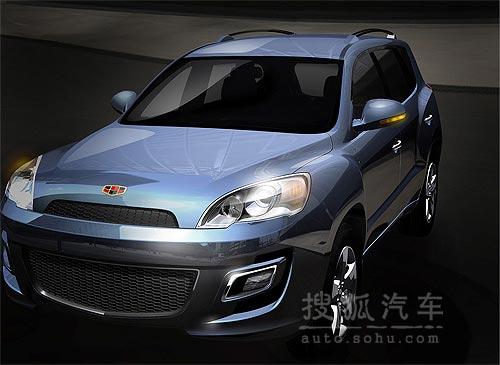 帝豪EX825:大型豪华SUV