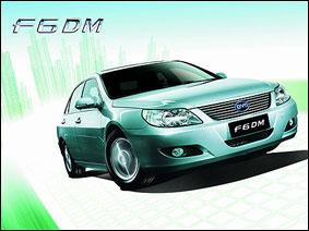 2009 上海车展 比亚迪 F6DM