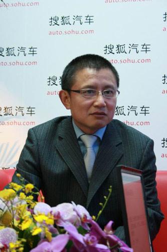 长安马自达安显林接受搜狐采访