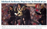 迈克尔杰克逊去世 纽约时报