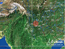 地震位置云南姚安县