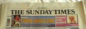 星期日泰晤士报11月起收费
