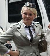 美女警察,美女,田径世锦赛,柏林田径世锦赛,09田径世锦赛