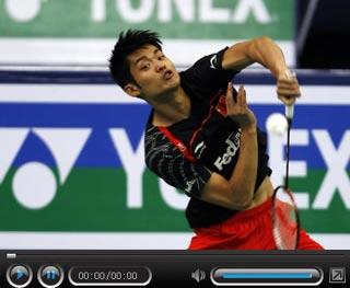 林丹2-0轻取陈金 超级丹世锦赛三连冠创历史